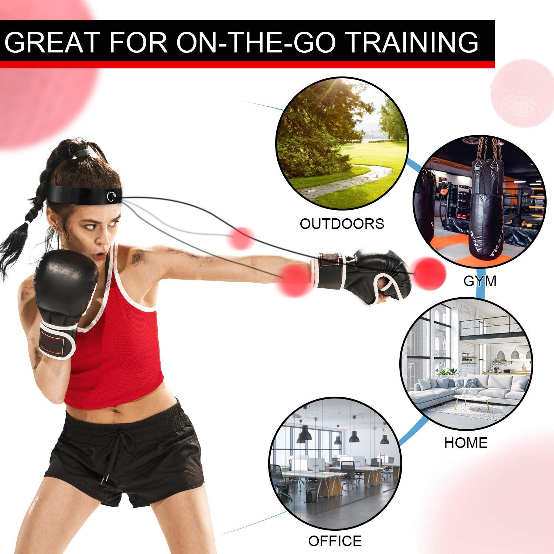 TTKLLLL Boxing Reflex Ball
