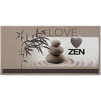 Promobo Tapis Descente De Lit Deco Zen Salle De Bain Cuisine Love