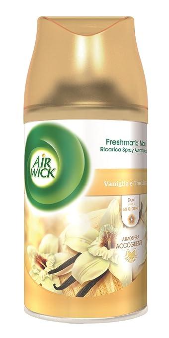 54 opinioni per Air Wick Fresh Matic Ricarica Spray Automatico, Vaniglia e Thè Bianco
