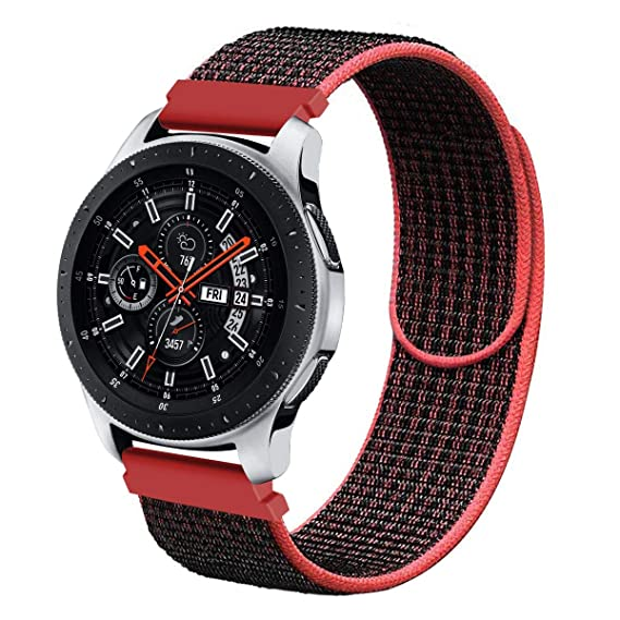 Galaxy Watch 46mm Bands, Gear S3 Bands, Wingle 22mm Universal Replacement Strap Quick Release Pin Compatible for TicWatch Pro, Huawei Watch GT Classic ...