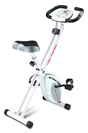 HIGH POWER - Bicicleta estática plegable, volante de 5 kg