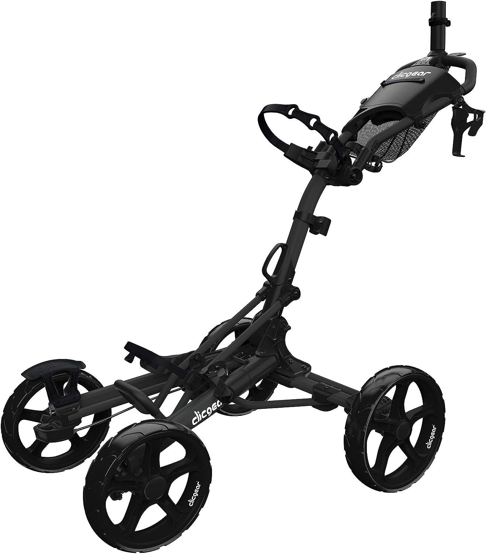 Clicgear Model 8+ | 4-Wheel Golf Push Cart