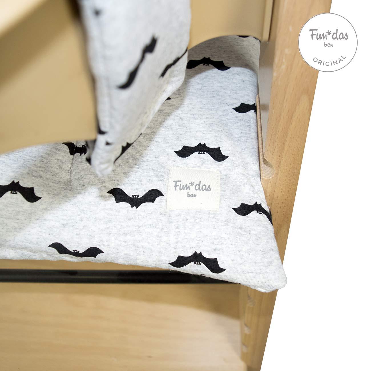 Fundas BCN /® F135//9099 Coj/ín para trona Stokke Tripp Trapp /® Baby Bat