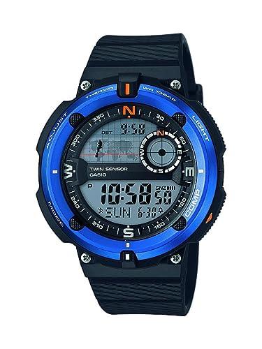 Casio Reloj Digital para Hombre de Cuarzo con Correa en Resina SGW-600H-2AER: Amazon.es: Relojes