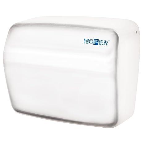 Nofer 01251.w Kai Secador de Manos con Sensor electrónico Acero Inoxidable Color Blanco 30