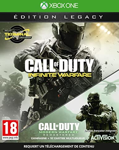 Activision Blizzard Call of Duty: Infinite Warfare Legacy Edition ...