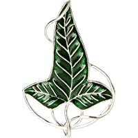 Noble Collection - Lord of The Rings Brooch Elven Leaf Brooch (Silver Plated)