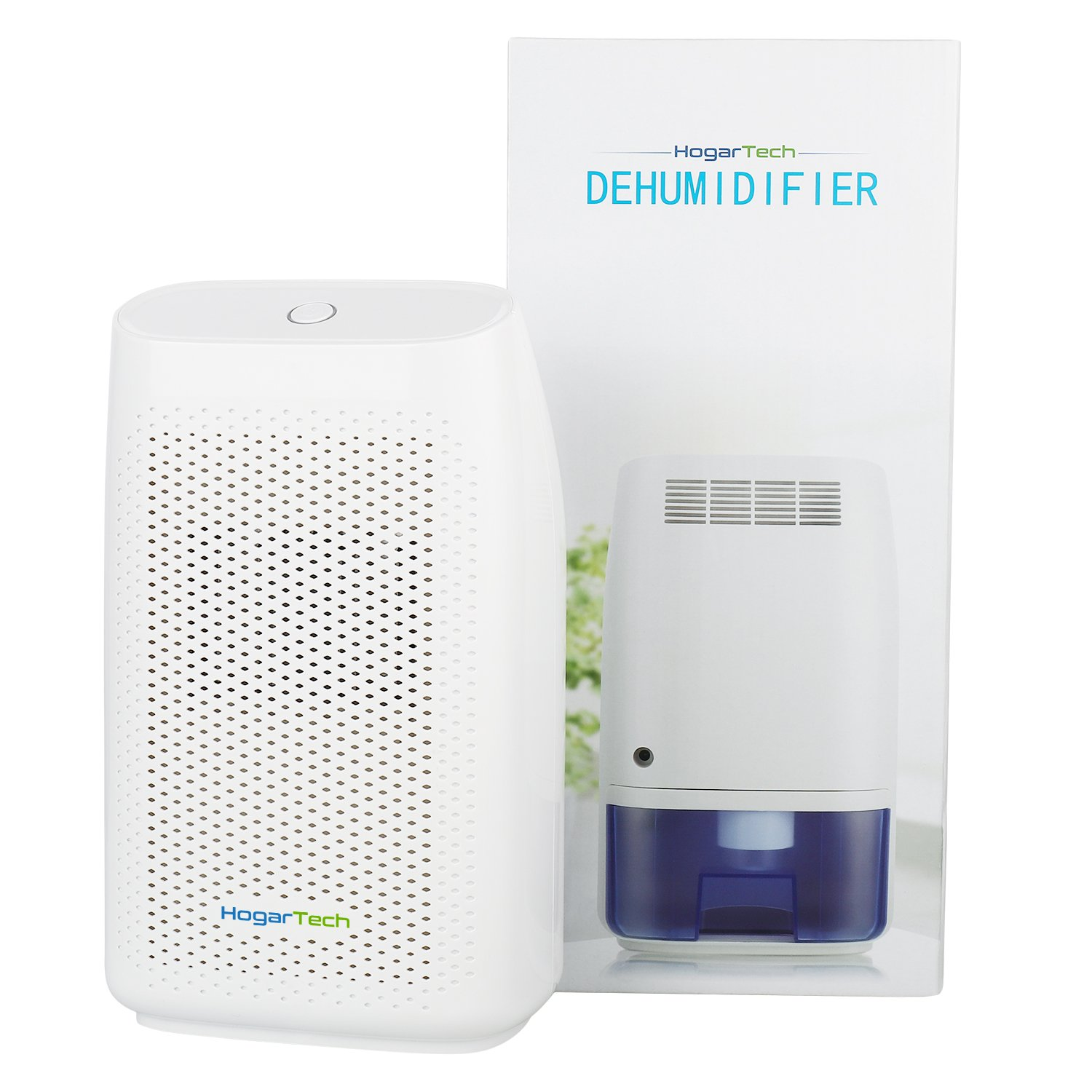 HogarTech Mini Dehumidifier Ultra Quiet Portable Air Dehumidifier - Bathroom air purifier