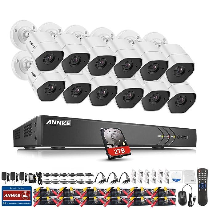 1 opinioni per ANNKE TVI Kit Sorveglianza 3MP DVR 16 Canali 12 Metal Telecamera 3MP Cloud