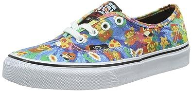0d7b240435 Vans Authentic Nintendo Super Mario Canvas Trainers Shoes-5  Amazon ...