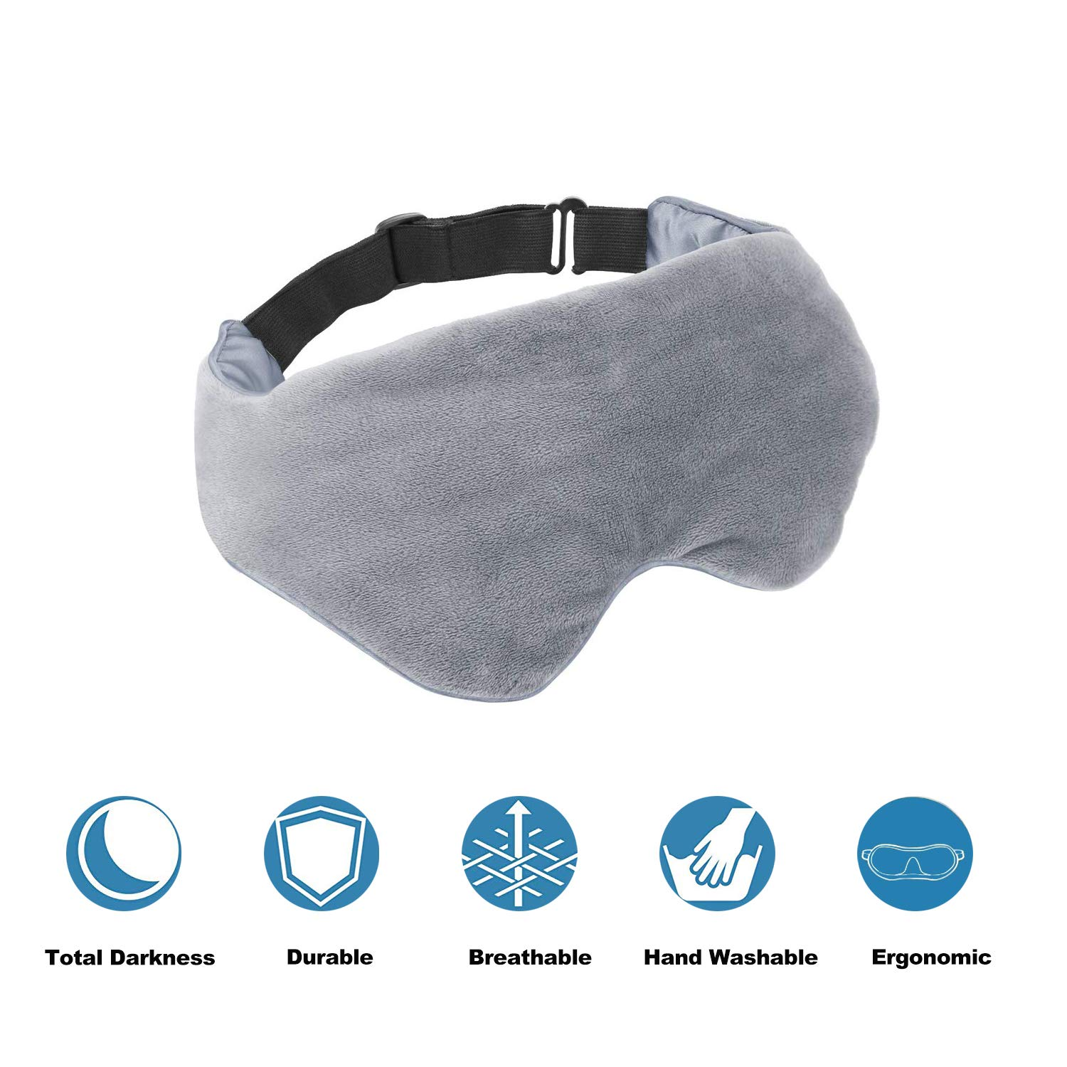 Amazon coupon code for Adjustable Strap Blackout Weighted Eye