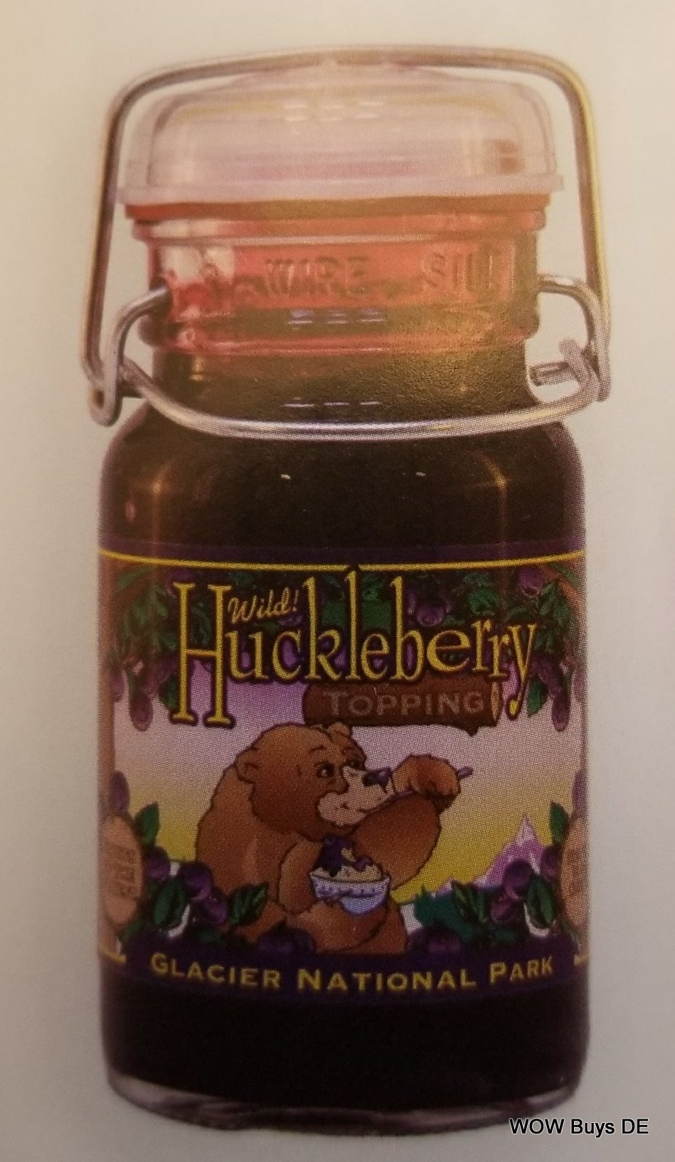 Wild Huckleberry Old Fashion Topping 9 oz