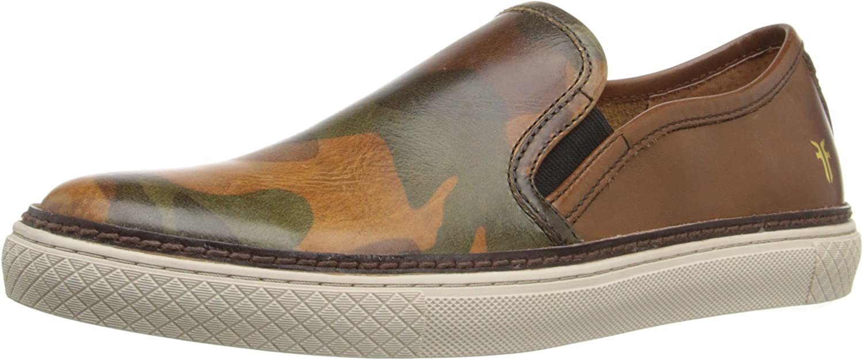 Free shipping New FRYE Men's Gates Fashion Sneaker Slip-On Long Beach Mall