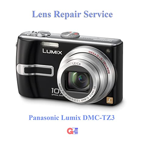 amazon com panasonic lumix dmc tz3 lens repair service using rh amazon com Panasonic Lumix DMC-G2 Panasonic TZ3 Recall