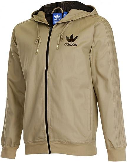 adidas LC FZ Jacket Herren Jacke braun Z63056: