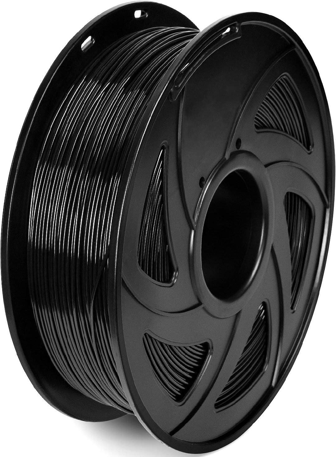UNIDO 3D Printer Filament, PETG Filament 1.75 mm, Dimensional Accuracy +/- 0.02 mm, 1KG(2.2LB)/ Spool