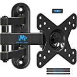 """Mounting Dream TV Wall Mount Bracket with Full Motion Articulating Arm (14"""" Extension) for most of 10-26 Inches LED, LCD TVs and Monitors up to VESA 100x100mm and 33 lbs MD2463"""