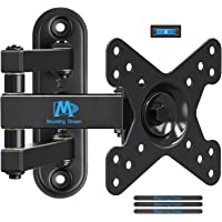 "TV Wall Bracket Monitor Mount for Most 10-26 Inch LED, LCD Flat Screen TV and Monitors (for 10""-26"" TVs/Single Wood Stud)"