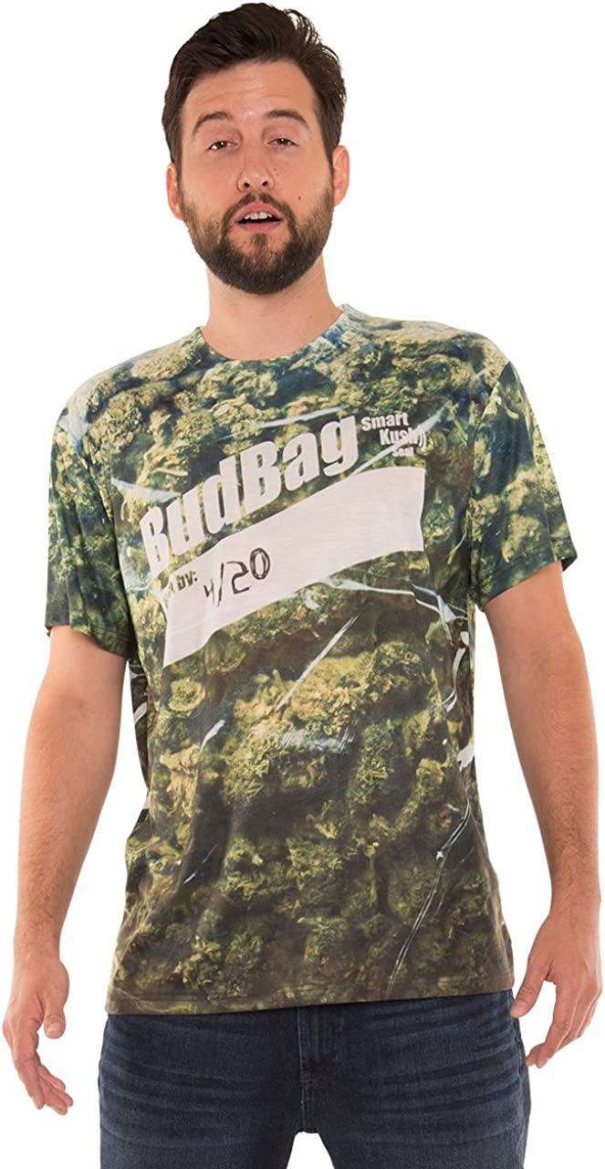 Faux Real Men's 3D Photo-Realistic Short Sleeve T-Shirt
