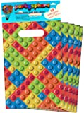 Partysphere Building Block Treat Bags, 12-Pieces