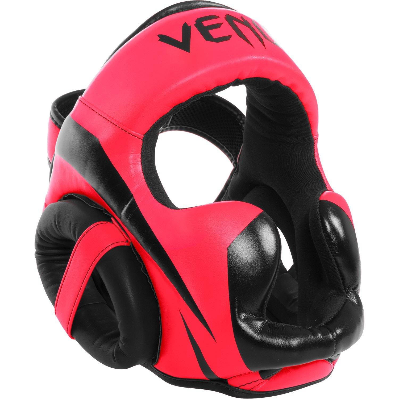 Neon Pink Venum Elite Headgear