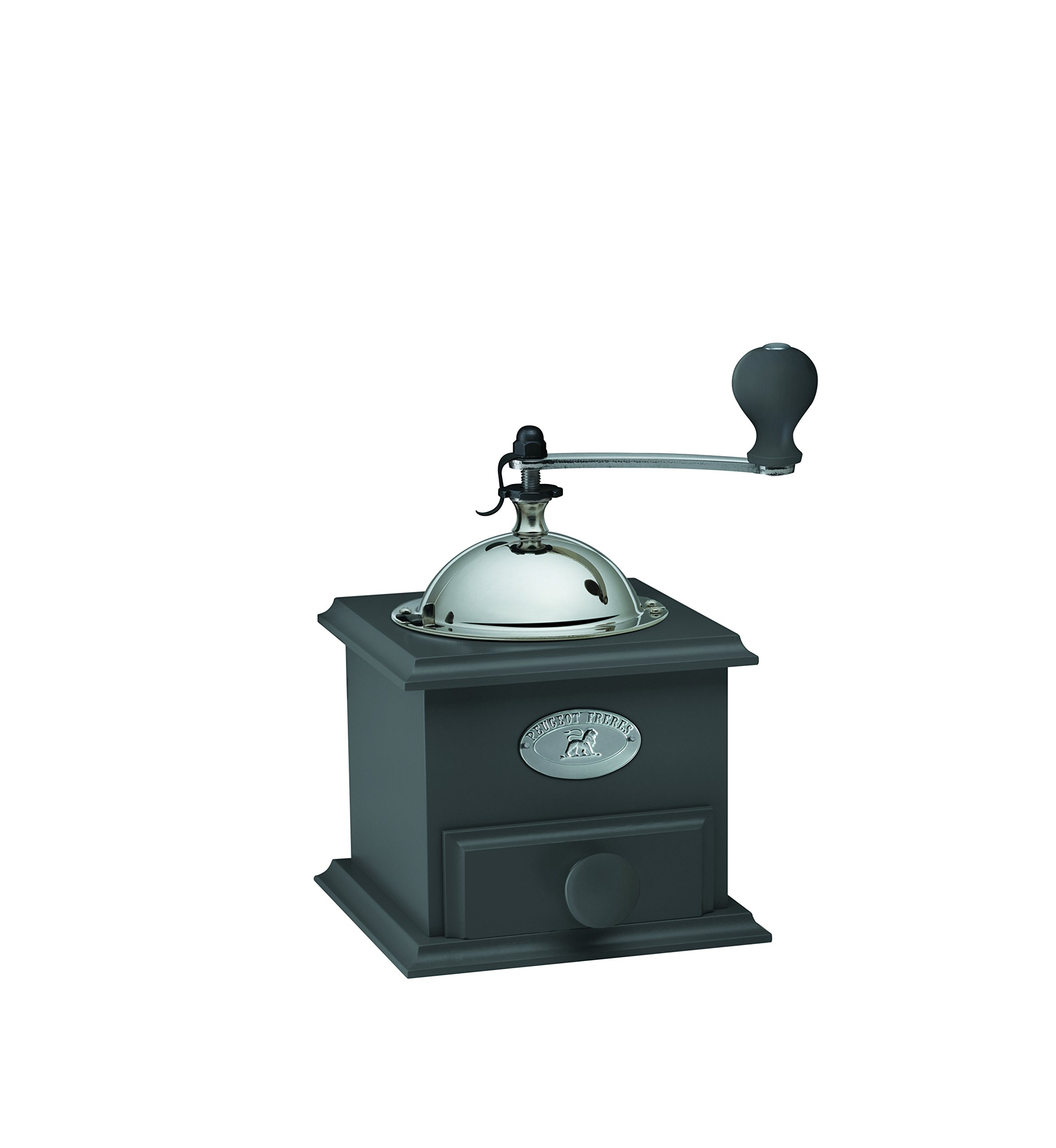 Peugeot 31169 Cottage Coffee Mill, 8-1/4'' x 5'' x 5'', Gray