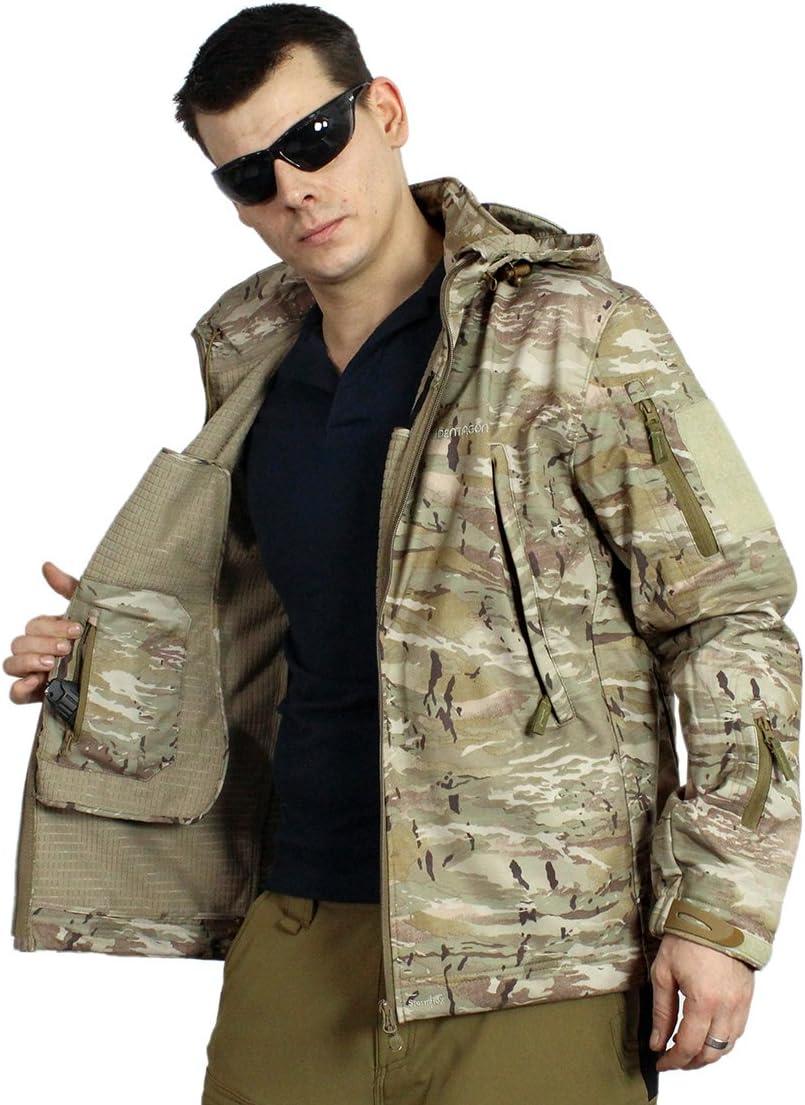 /& impermeable viento Pentágono Softshell chaqueta-Artaxes- en-pentacamo