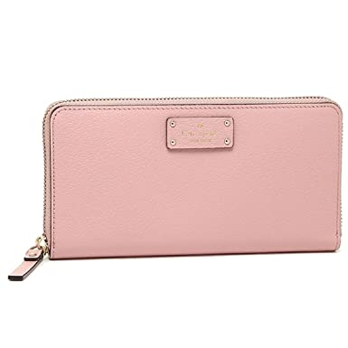 689532a7053d1 Image Unavailable. Image not available for. Color  Kate Spade Neda Grove  Street Pink Bonnet Wallet