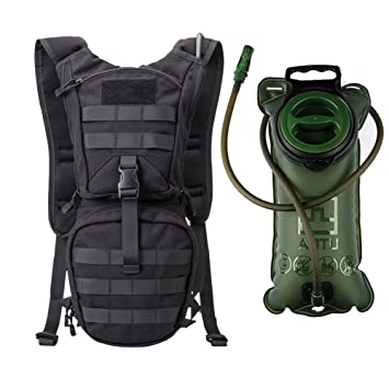 Amazon.com : INDEPMAN Tactical Hydration Pack Waterproof Nylon ...