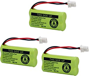 QBLPOWER BT-183342 BT-283342 BT-166342 BT-266342 BT-162342 BT-262342 Battery CS6114 CS6419 CS6719 EL52300 CL80111 Cordless Phone(Pack of 3)