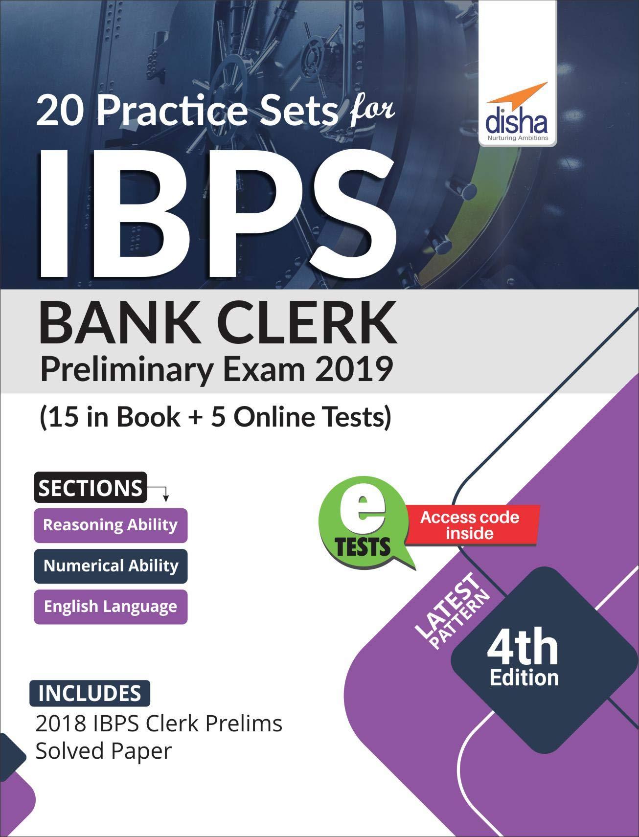 Hoekbank Twenty 5.Buy 20 Practice Sets For Ibps Bank Clerk 2019 Preliminary