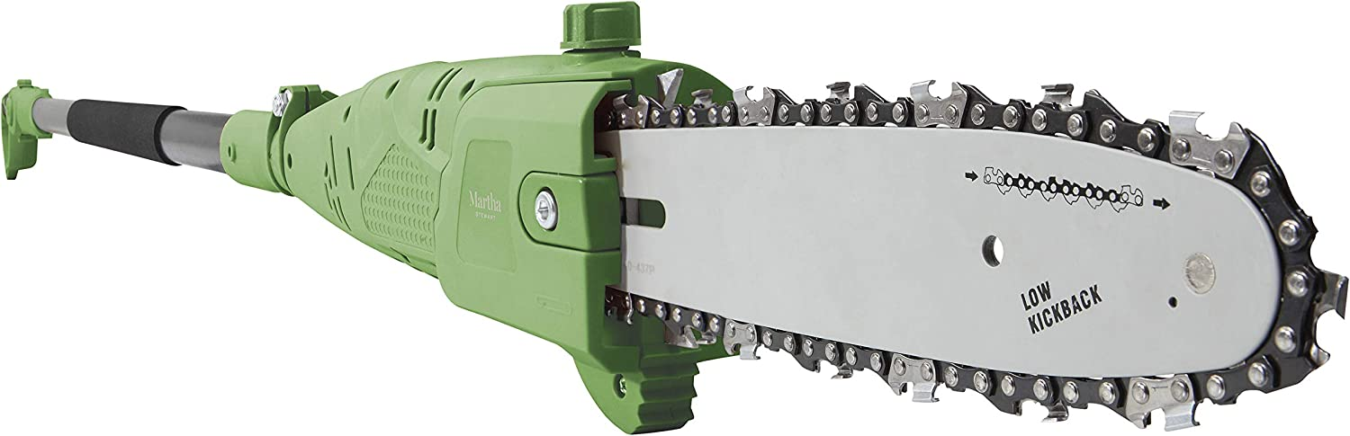 MARTHA STEWART MTS-PS10 10-Inch 7-Amp Telescoping Electric Pole Chain Saw