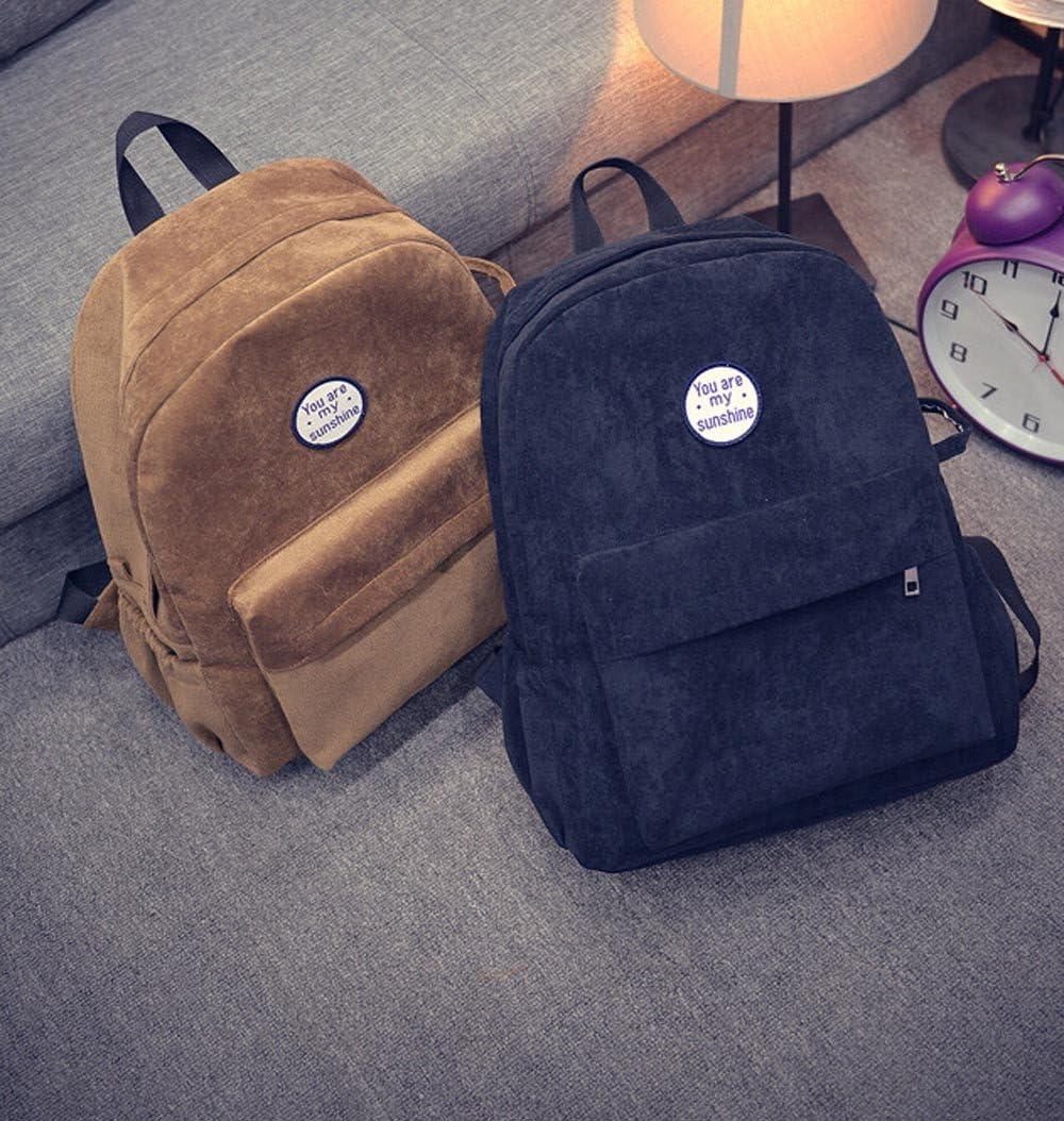 Wobuoke Children Oxford Cloth Handbag Messenger Shoulder Bag Satchel Travel School Bag With Two Bottle Bag