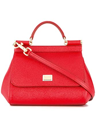 Bb6271a100180303 A Rosso Borsa Gabbana Dolce Pelle Donna Mano amp; TPzpxp