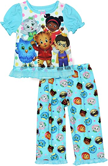 Daniel Tigers Neighborhood Toddler Boys 2-Piece Pajama Pant Set Size 2T 3T 4T