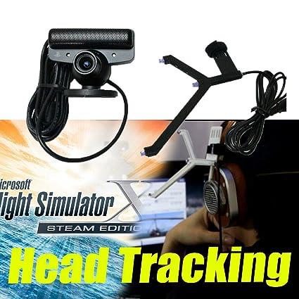 S18 - OpenTrack Camera + IR LED Track Clip Pro Work on FSX ATS ETS TrackIR  5 Alternate