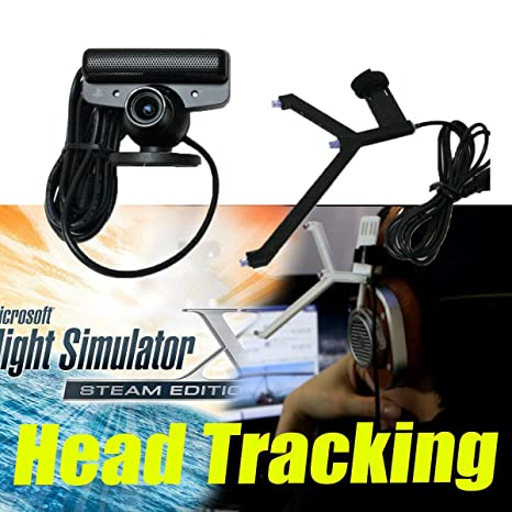 S18 - OpenTrack Camera + IR LED Track Clip Pro Work on FSX ATS ETS TrackIR  5 Alternate