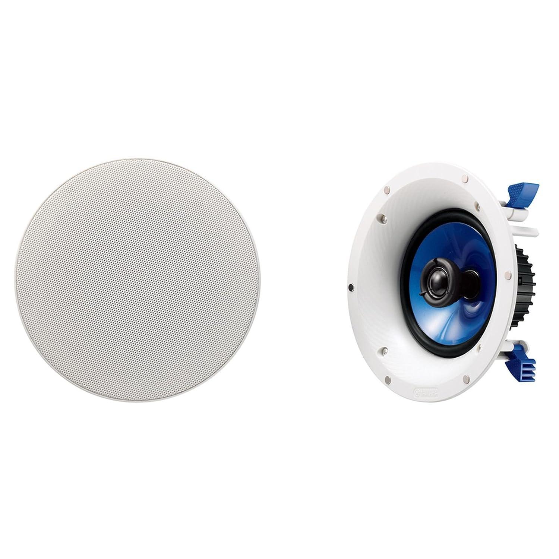 Yamaha Nsic600wh 2 Way 110 Watts Rmsspeaker White Ceiling Speakers Wiring Home Audio Theater