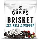 Duke's Traditional Sea Salt & Pepper Beef Brisket Strips, 2.5 oz. (Pack of 8)