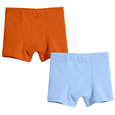 City Threads Boys Mature Boxers Brief Underwear All-Cotton 2 Pack Made in The USA