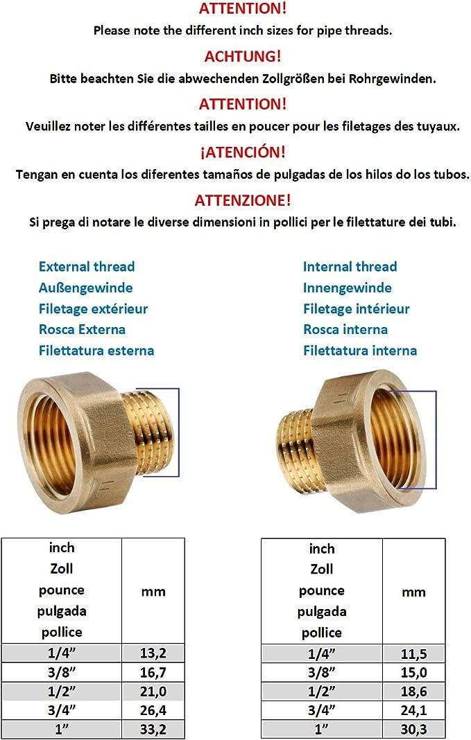 10.63 €//m tubo de gas 1,5 m regulador de presión 30 mbar reductor de gas españa gasdruc