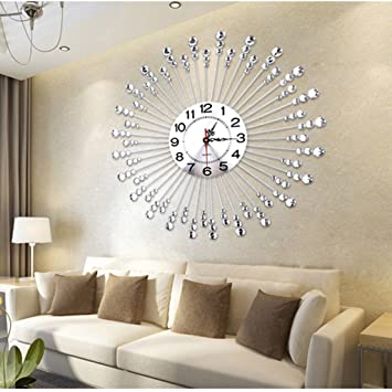 Amazon.de: Edge to Wanduhren European Fashion Clock Wohnzimmer ...