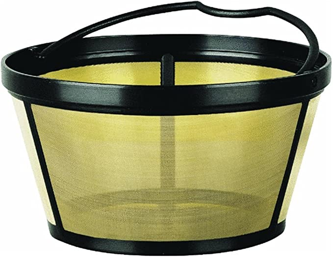 Mr. Coffee Basket-Style Gold Tone Permanent Filter - GTF2-RB2