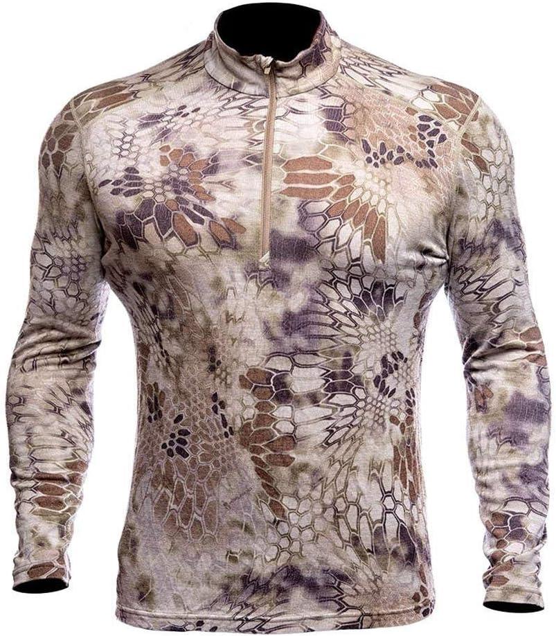 Kryptek Men's Hoplite II Merino Wool Zipper