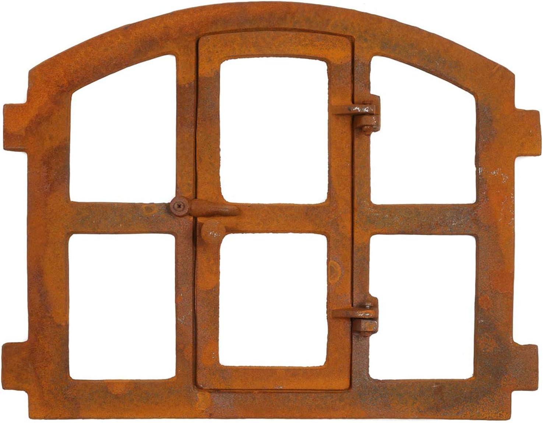 Marco ventanas ventana del granero 51x42 cm de hierro de estilo antiguo