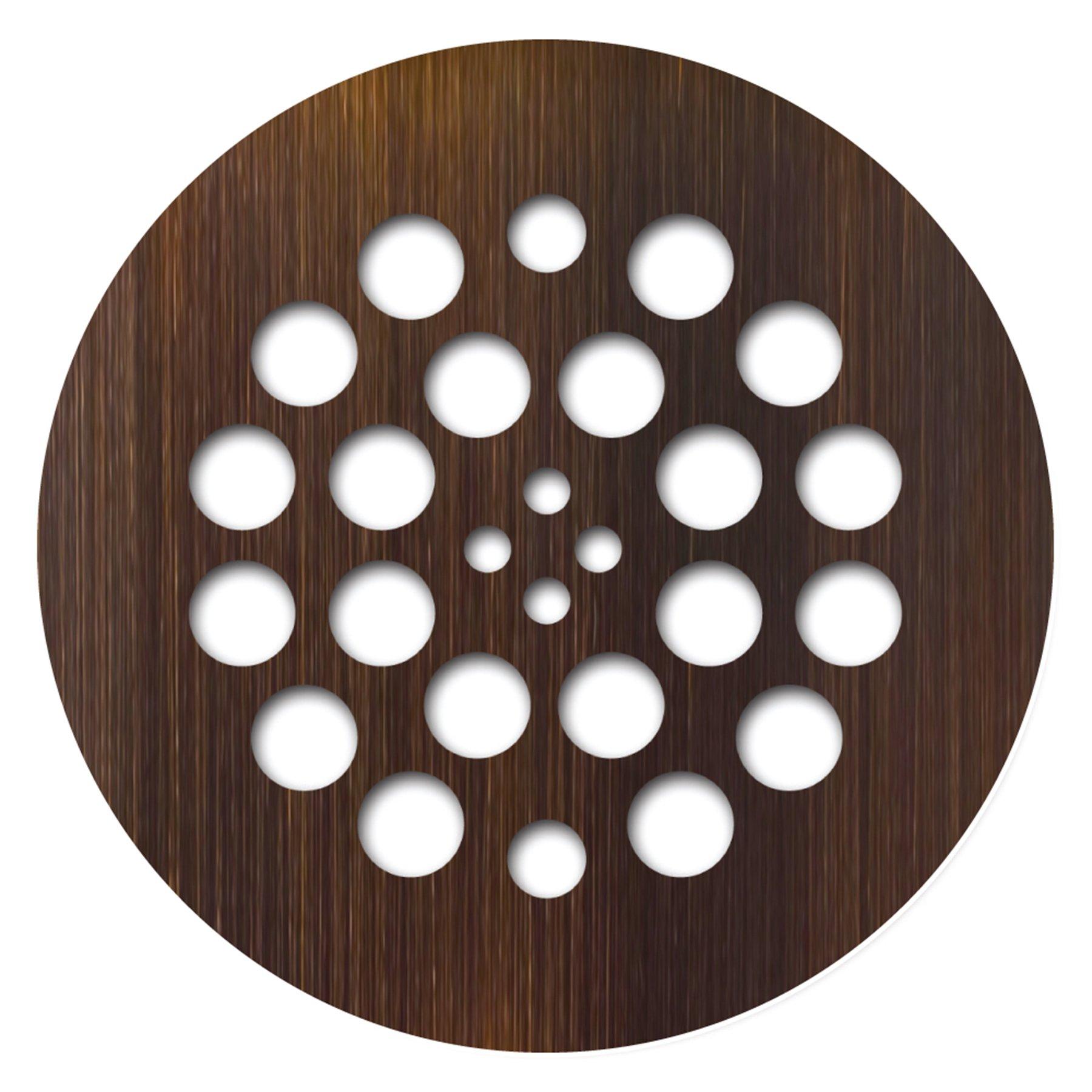 Tile Redi USA DP-RD-OB Shower Drain, 4.25''D x 4.25''W, Oil Rubbed Bronze by Tile Redi USA