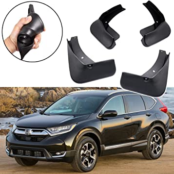 Xrlwood 4pcs for Honda CR-V 2012-2017 Car Mudguard PP Splash Guards Replacement Mud Flap Protection