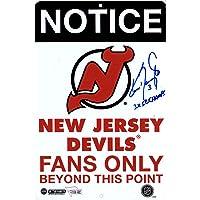 "$37 » Ken Daneyko New Jersey Devils Autographed Fans Only 8"" x 12"" Aluminum Sign with""3x SC Champs"" Inscription - Fanatics Authentic Certified"