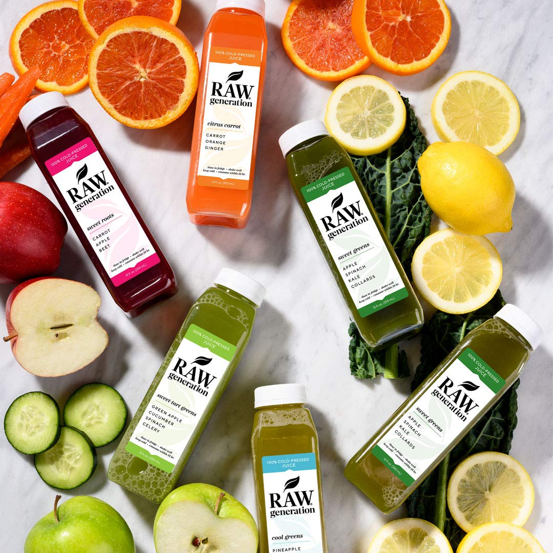 3-Day Skinny Cleanse by Raw Generation® - Best Juice Cleanse to Lose Weight Quickly/Healthiest Way to Cleanse & Detoxify Your Body/Jumpstart a Healthier Diet by RAW generation (Image #2)