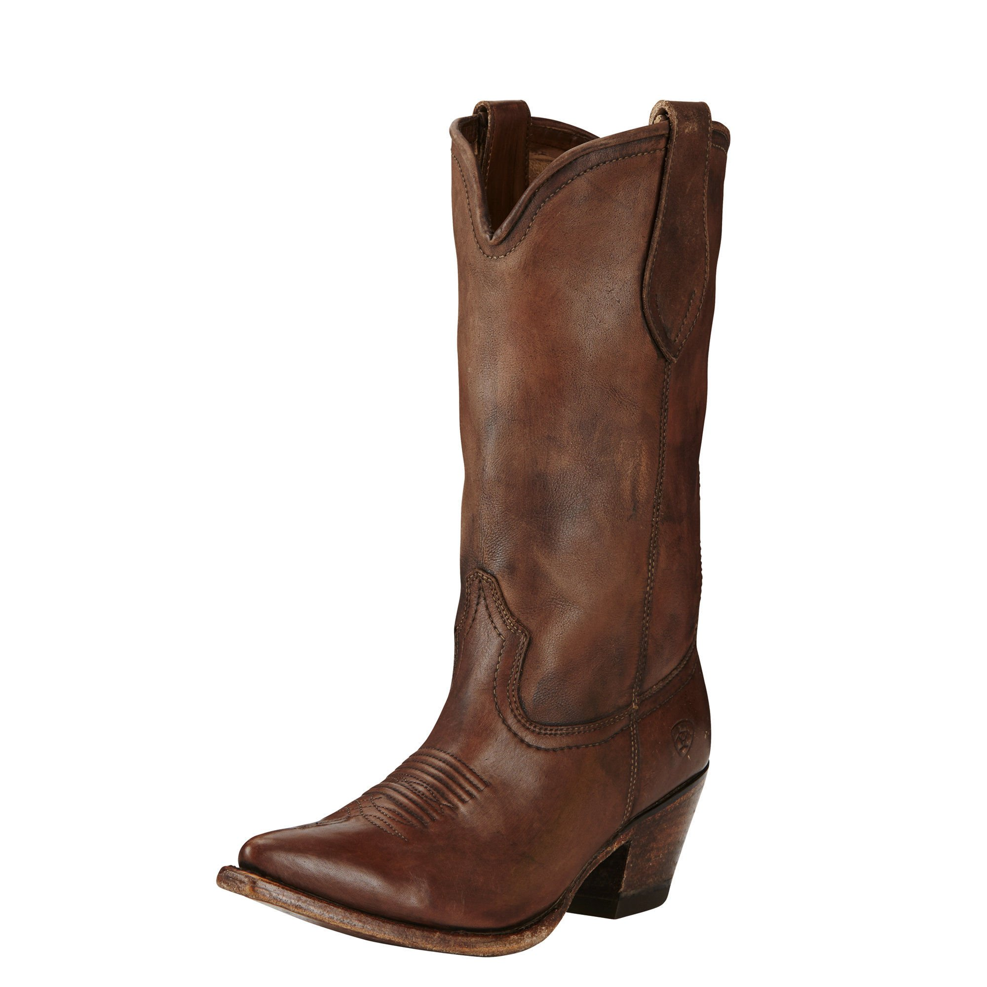 Ariat Women's Josefina Western Cowboy Boot, Naturally Distressed Brown, 7 B US